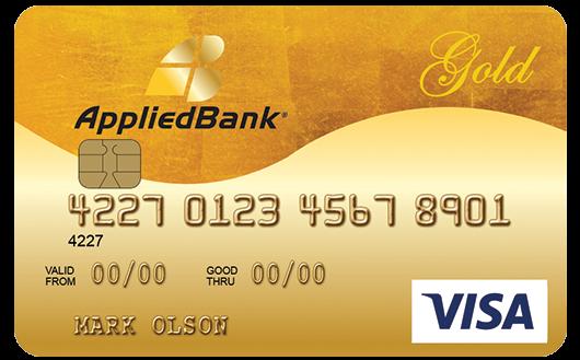 applied bank visa gold