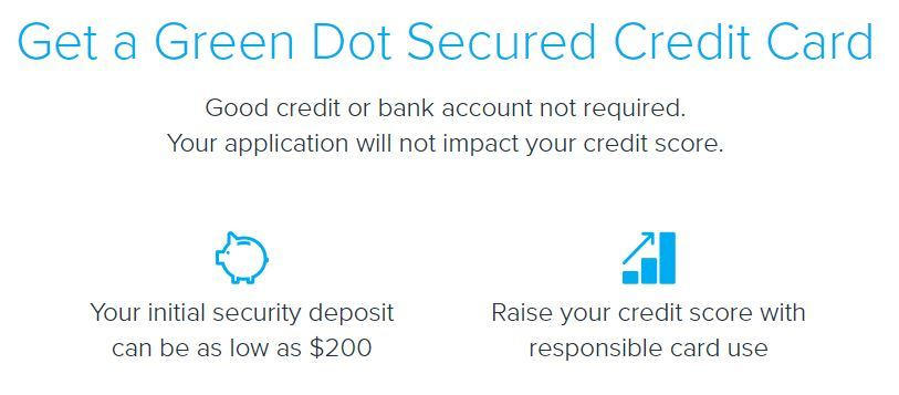 green dot secured credit card reviews