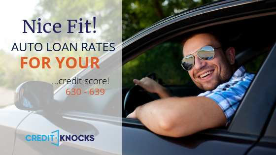 New, Used, and Refinanced Auto Loan Rates for 630 631 632 633 634 635 636 637 638639 Credit Score