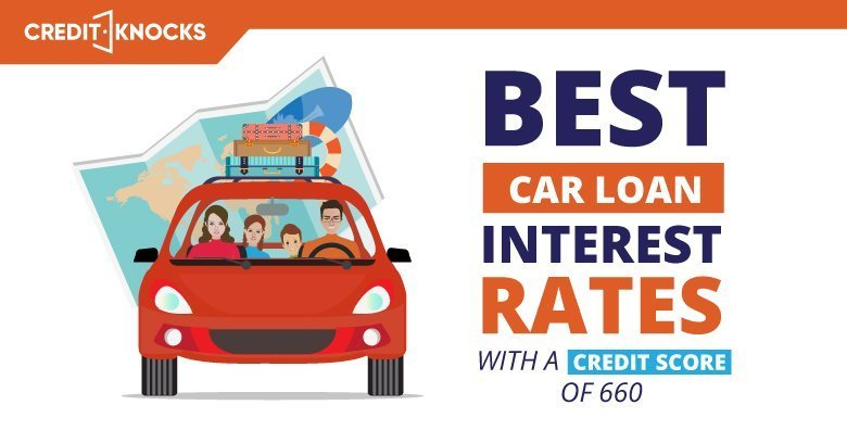 car auto loan interest rate with 660 credit score