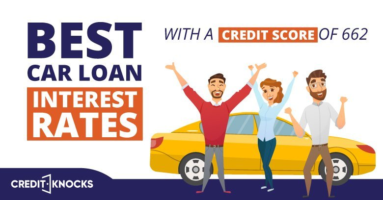 car auto loan interest rate with 662 credit score