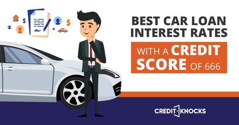 car auto loan interest rate with 666 credit score