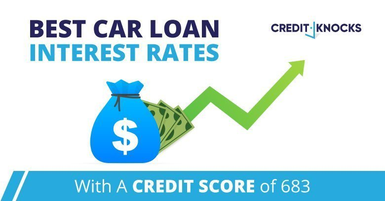 car auto loan interest rate with 683 credit score