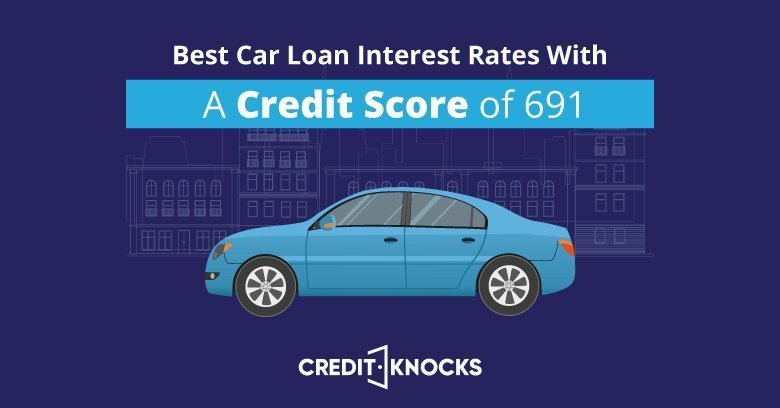 Best Used Car Loan Rates >> Best Auto Loan Rates With A Credit Score Of 690 To 699
