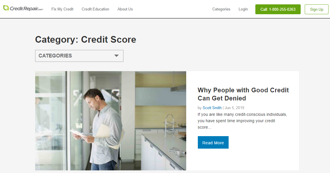 creditrepair.com review credit education