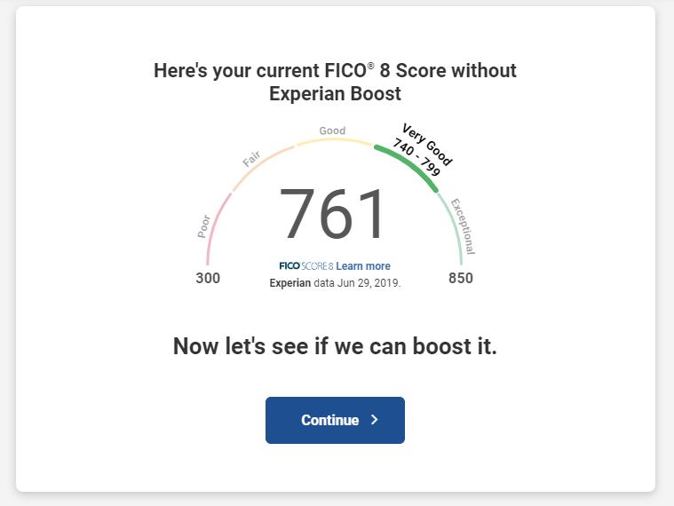 Current Credit Score