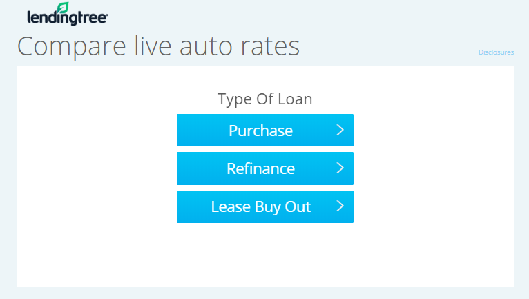 lendingtree auto loan review compare rates