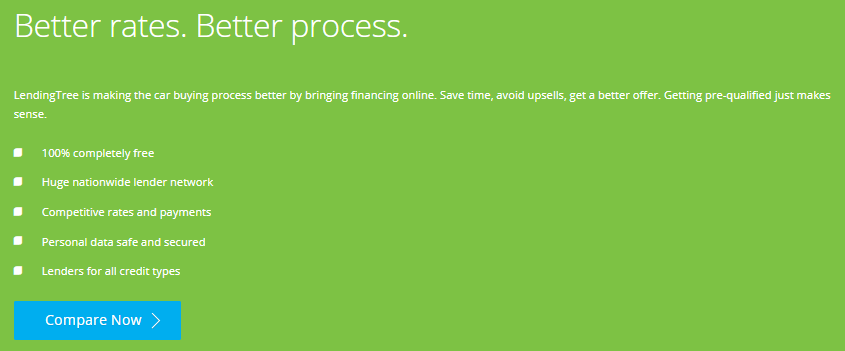 lendingtree auto loan review process