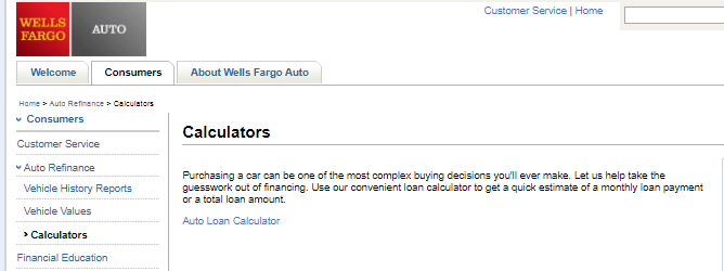 wells fargo auto loan review dealer services auto loan calculator