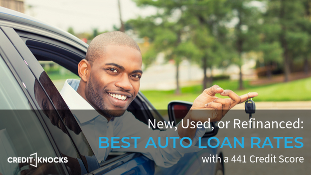 441 car loan rate auto loan interest rate with 441 credit score car loan rate