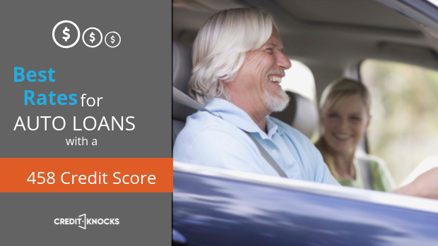 458 auto loan rate car loan interest rate with 458 credit score auto loan rate