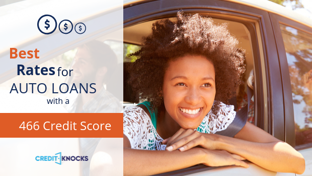 466 auto loan rate car loan interest rate with 466 credit score auto loan rate
