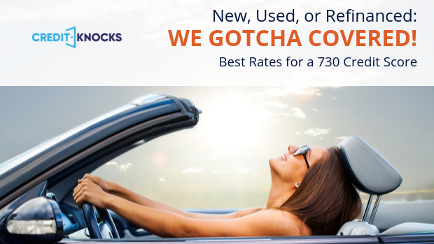 730 Credit Score >> Best Auto Loan Rates With A Credit Score Of 730 To 739