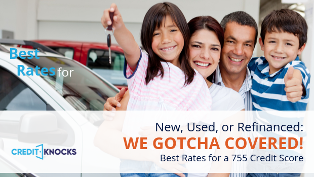755 car loan rate auto loan interest rate with 755 credit score car loan rate