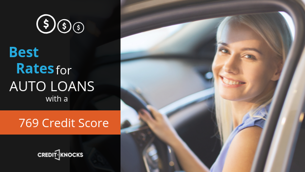 769 car loan rate auto loan interest rate with 769 credit score car loan rate