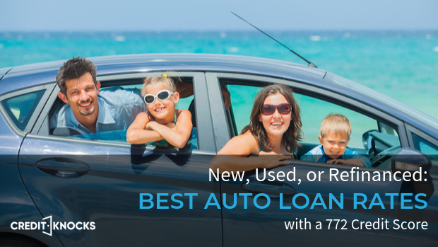 772 auto loan rate car loan interest rate with 772 credit score auto loan rate