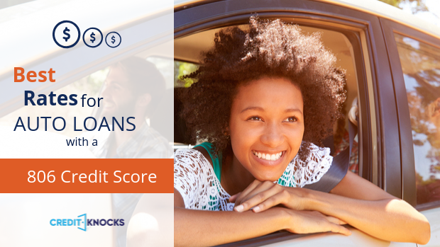 806 auto loan rate car loan interest rate with 806 credit score auto loan rate