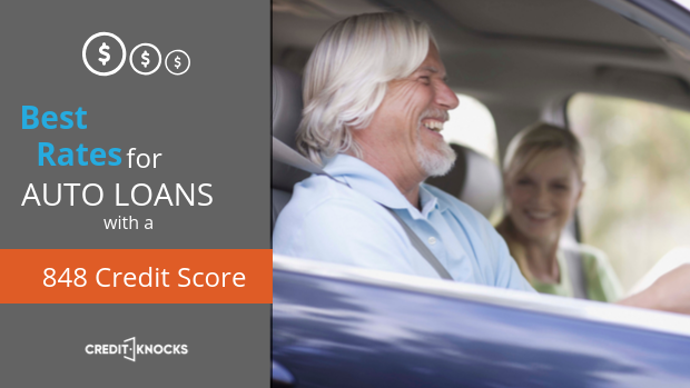 848 auto loan rate car loan interest rate with 848 credit score auto loan rate