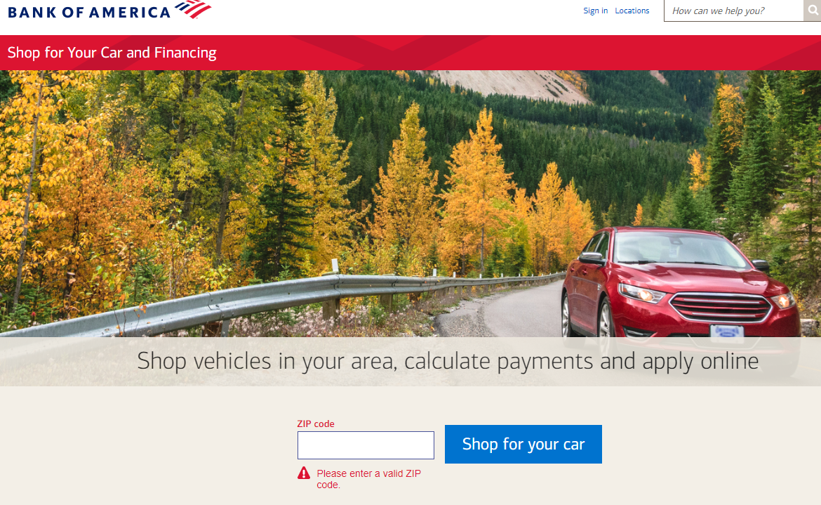 Bank of america auto loan rates boa car loan rates shop for your car and financing