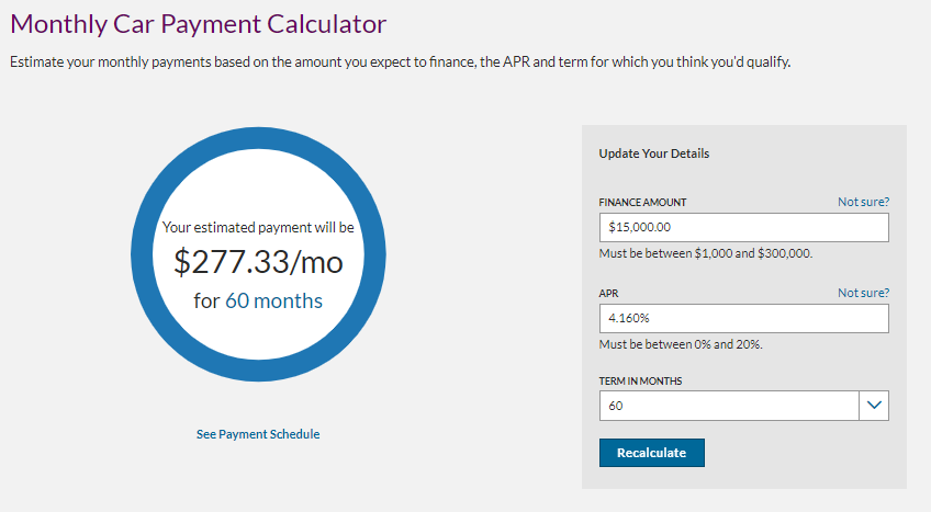ally auto loan review ally monthly car payment calculator