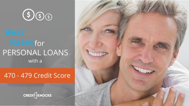 bad credit PERSONAL loan credit score of 470 471 472 473 474 475 476 477 478 479 personal loans for bad credit