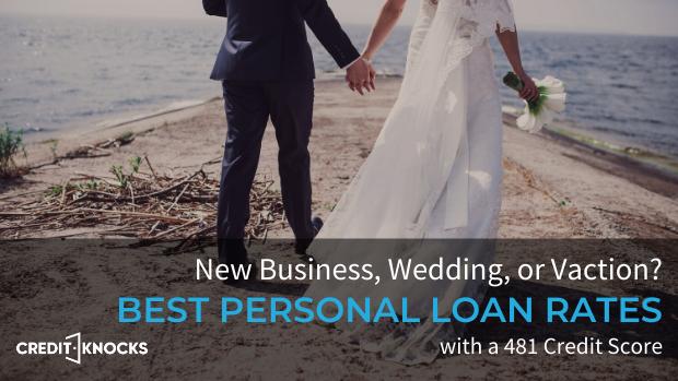bad credit personal loans credit score 481 credit score personal loans for bad credit
