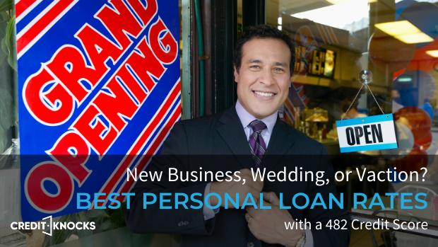 bad credit personal loans credit score 482 credit score personal loans for bad credit