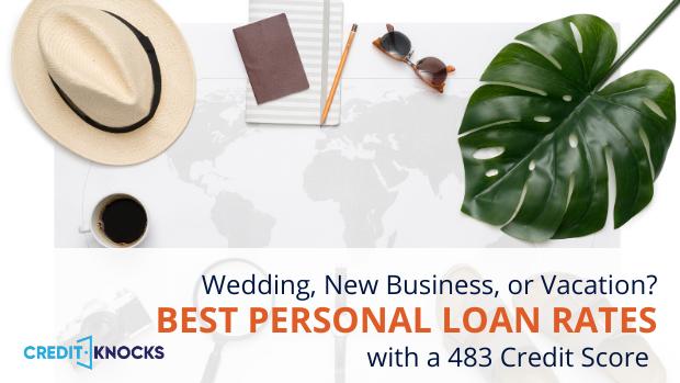 bad credit personal loans credit score 483 credit score personal loans for bad credit