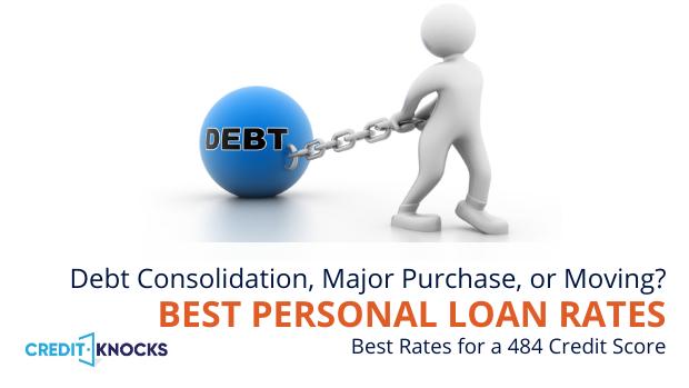 bad credit personal loans credit score 484 credit score personal loans for bad credit