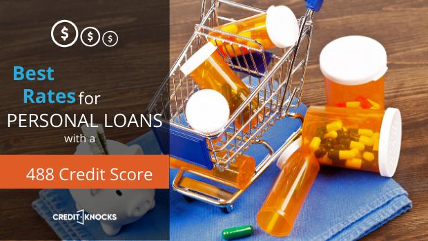 bad credit personal loans credit score 488 credit score personal loans for bad credit