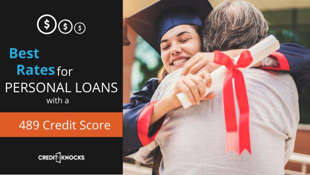 bad credit personal loans credit score 489 credit score personal loans for bad credit
