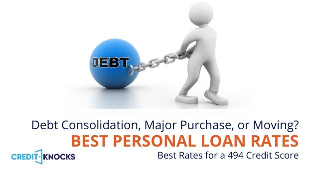 bad credit personal loans credit score 494 credit score personal loans for bad credit