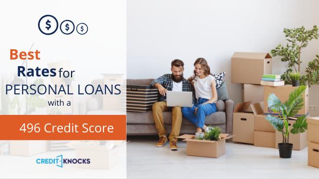bad credit personal loans credit score 496 credit score personal loans for bad credit