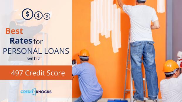 bad credit personal loans credit score 497 credit score personal loans for bad credit