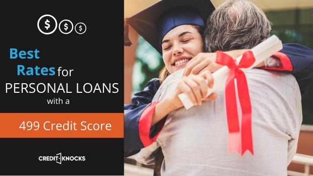 bad credit personal loans credit score 499 credit score personal loans for bad credit