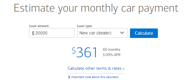 bank of america car loan rates boa auto loan rates three step process