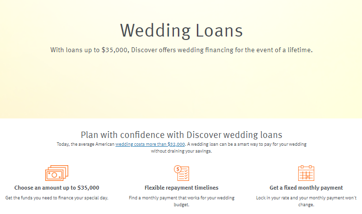 discover personal loan review wedding loans