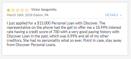 discover personal loan reviews customer reviews high interest rate loans