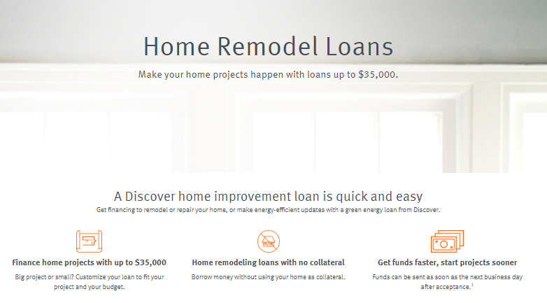 discover personal loans reviews home remodel loans