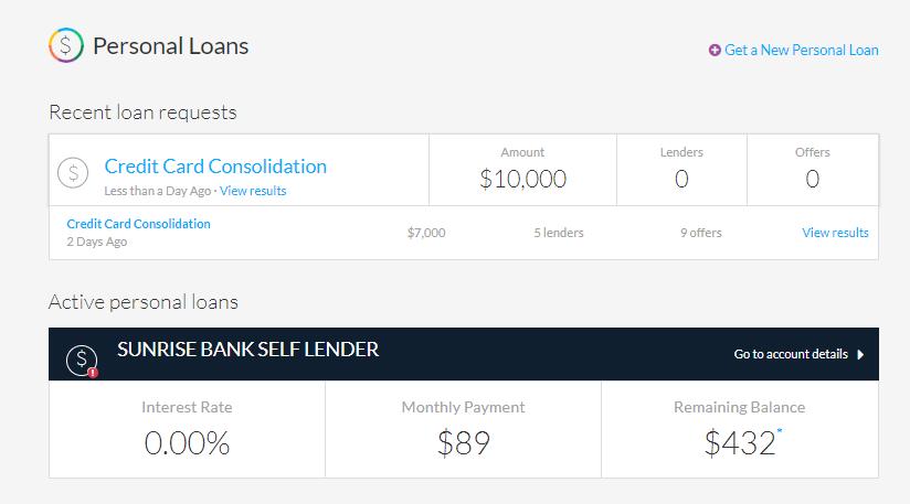 lendingtree-personal-loan-requests-dashboard