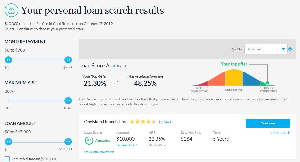 lendingtree-personal-loan-search-results-loan-score-analyzer