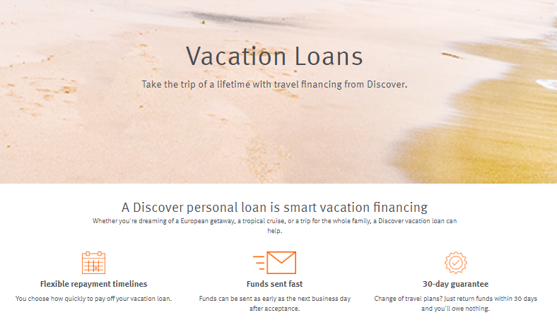 personal loan reviews discover vacation loans