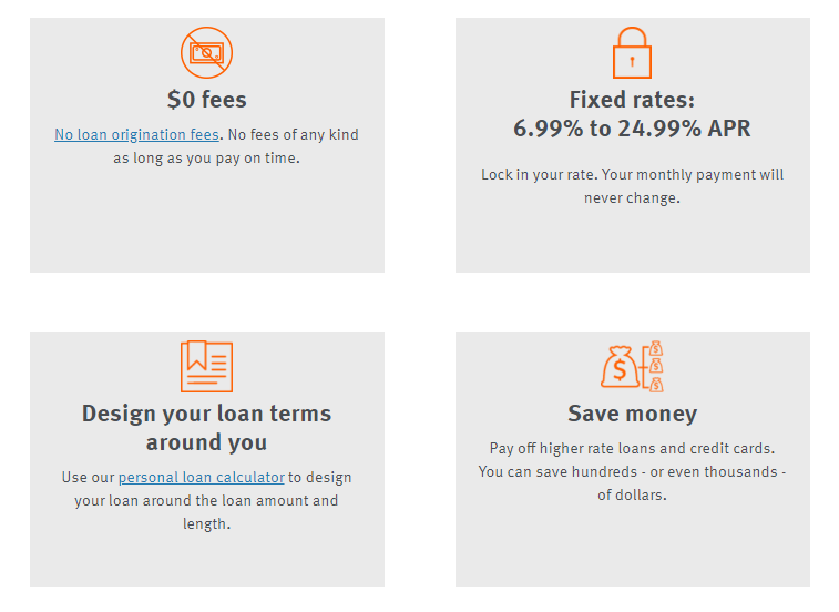 personal loans by discover no loan origination fees fixed rates design loan terms save money