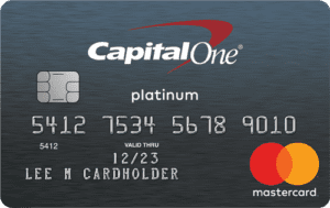 capital one platinum card, secured credit card