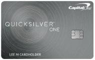 Capital One Quicksilver One Cash Rewards Credit Card