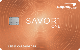 capital one savor one card
