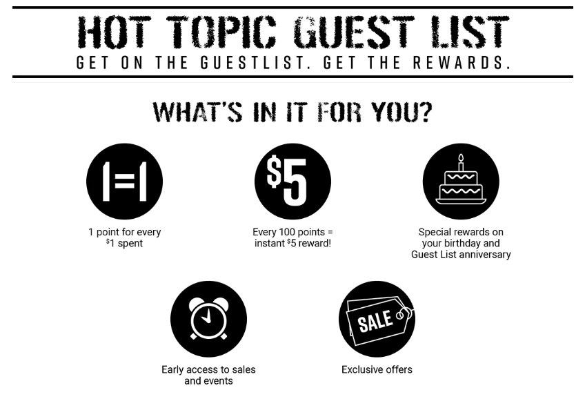 hot topic credit card apply, hot topic guest list credit card