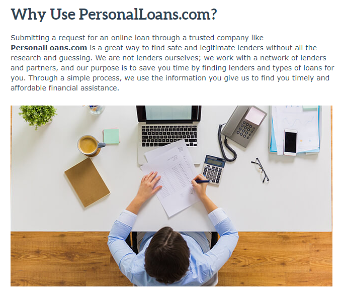 why use personalloans.com