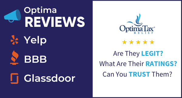 Is Optima Tax Relief Legit?