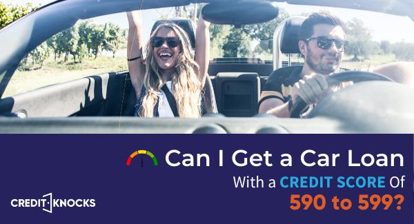 590 credit score car loan